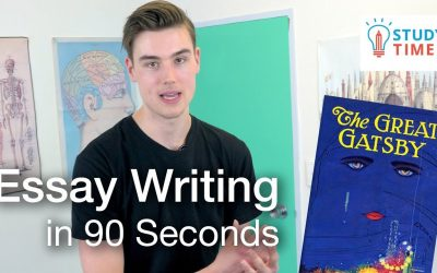 Essay Writing IN 90 SECONDS