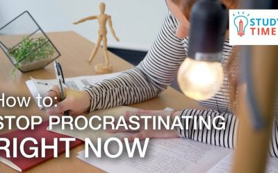 How to Stop Procrastinating RIGHT NOW
