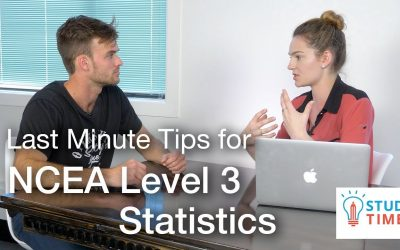 Last Minute Tips for NCEA Level 3 Statistics