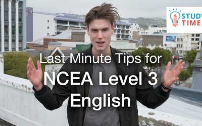 Last Minute Tips for NCEA Level 3 English