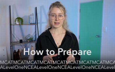 MCAT & NCEA Level 1 Externals – How to Prepare