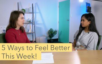 5 Ways to Improve Your Wellbeing | #MHAWNZ