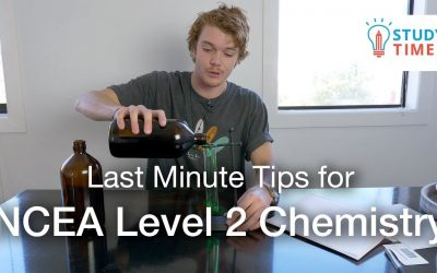 Last Minute Tips for NCEA Level 2 Chemistry