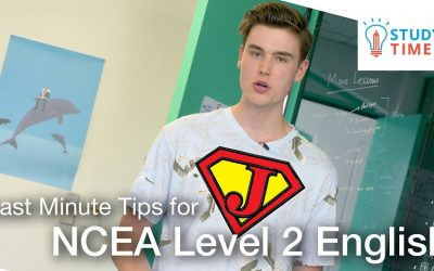Jordan's Last Minute Tips for NCEA Level 2 English