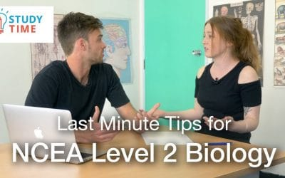 Last Minute Tips for NCEA Level 2 Biology