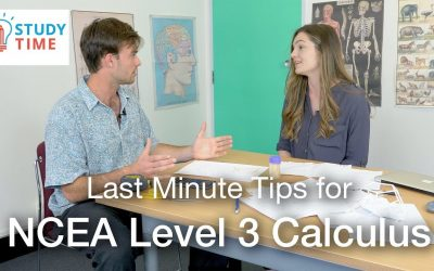 Last Minute Tips for NCEA Level 3 Calculus